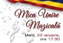 Mica Unire Muzicală la Biblioteca Metropolitană București