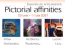 """""""Pictorial affinities"""", expoziţie inedită găzduită de Artoteca Bibliotecii Metropolitane Bucureşti"""